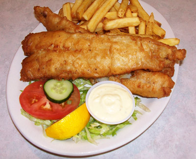 Engish Style Fish and Chips