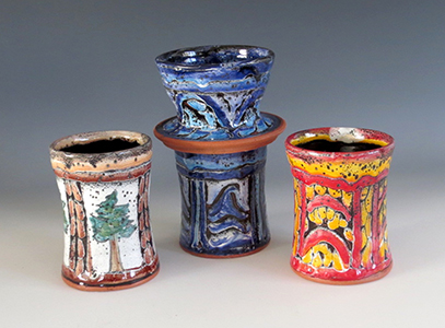 Pottery by Joan Farnam