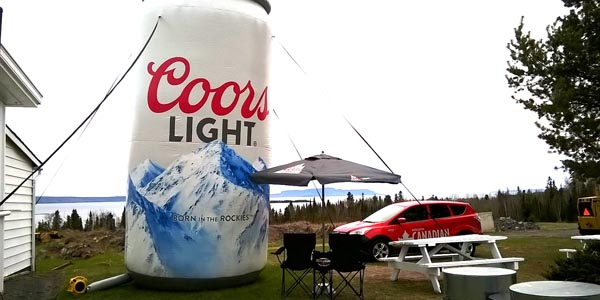 Crystal Beach Coors Canada Day